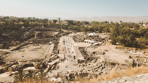 Beit Shean/ Dead Sea